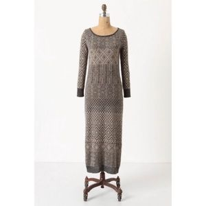 Anthropologie Sparrow Maxi Sweater Dress